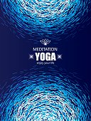 Cover Background for Yoga and Meditation.