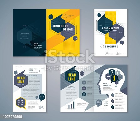 Cover Book Design Set, Speech Bubbles Background vector Template Brochures, flyer, presentations, leaflet, magazine, invitation card, annual report, Questions and Answers, social networks, talk bubbles