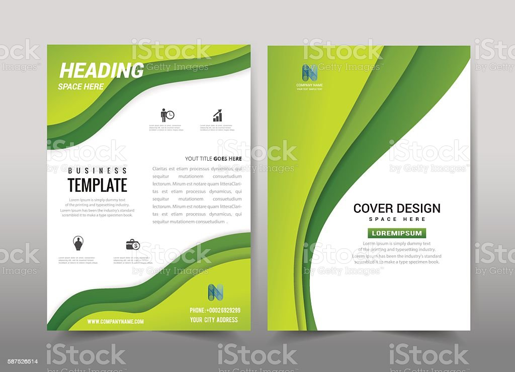 Cover business 04 vector art illustration
