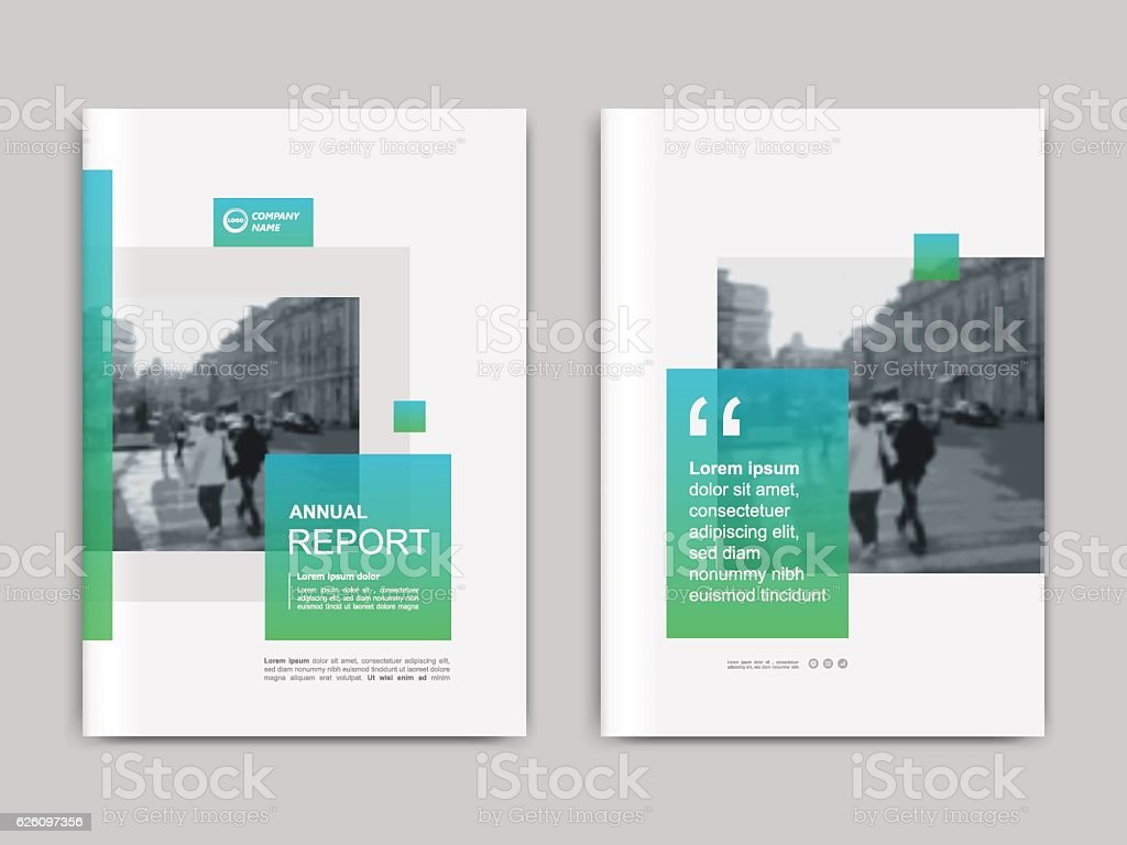 Cover design annnual report, flyer, presentation, brochure. vector art illustration