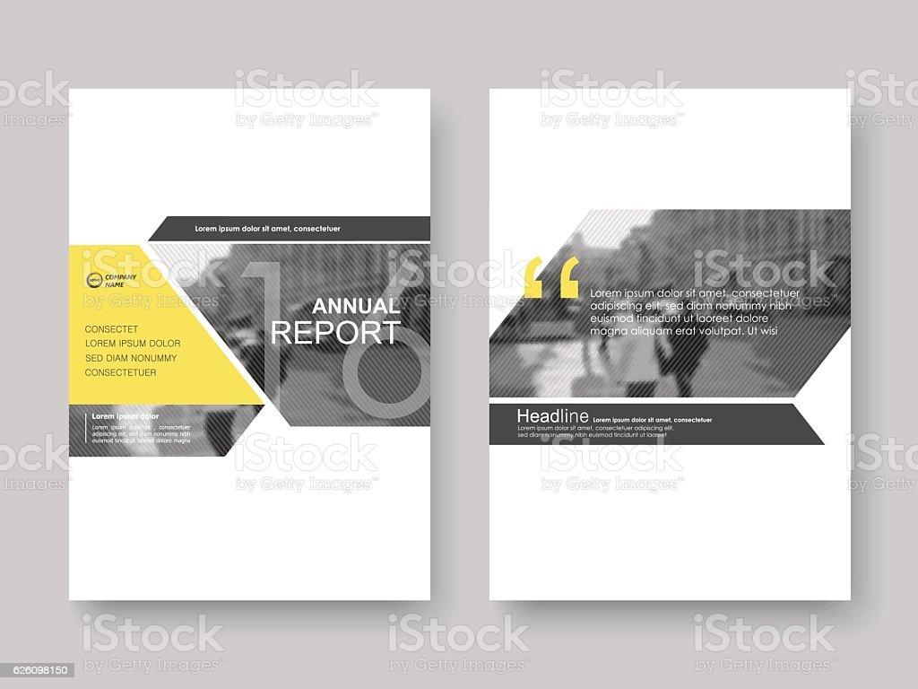Cover design annnual report, flyer, presentation, brochure. royalty-free stock vector art