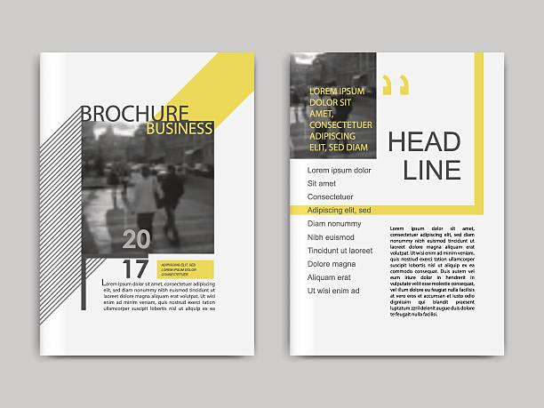 cover design annnual report, flyer, presentation, brochure. - zeitschrift grafiken stock-grafiken, -clipart, -cartoons und -symbole