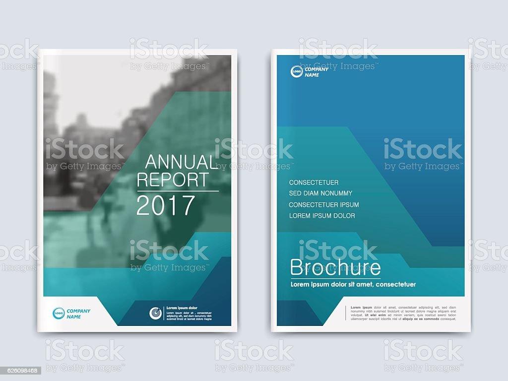 Cover design annnual report, flyer, presentation, brochure. vector art illustration