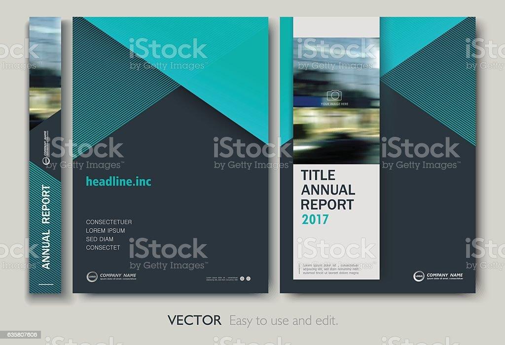 cover design annnual report flyer presentation brochure アイデアの