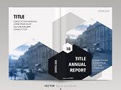 Cover design annual report, flyer, brochure.