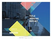 Cover design annual report,vector template brochures, flyers, presentations, leaflet, magazine a4 size. Minimalistic trendy design background