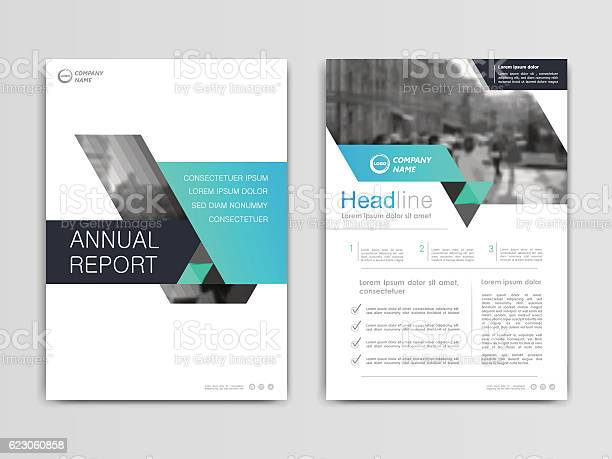 Cover Design Annual Reportvector Template Brochures Stock Illustration - Download Image Now