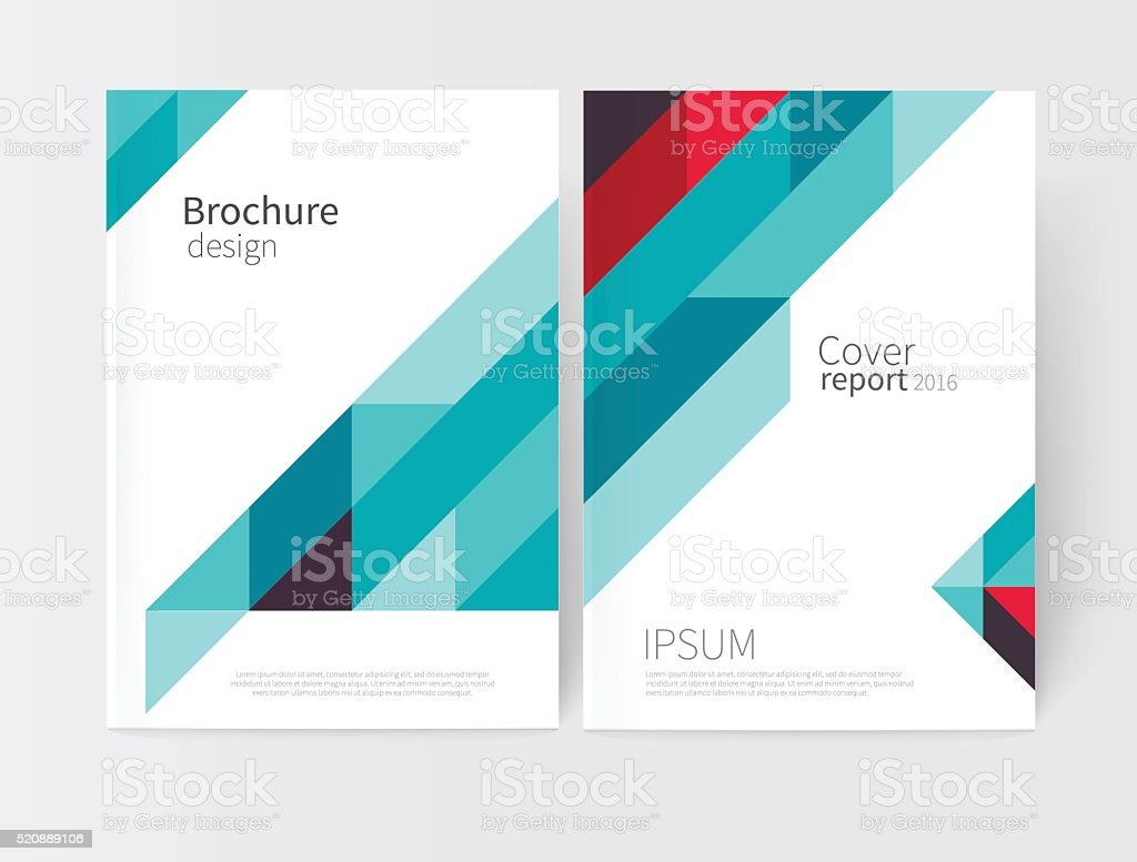 Cover Design. Brochure, Flyer, Poster, Annual Report Cover Template.  Royalty   Annual Report Template Design