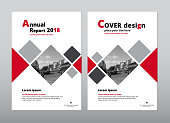 Cover design for annual report and book cover design.