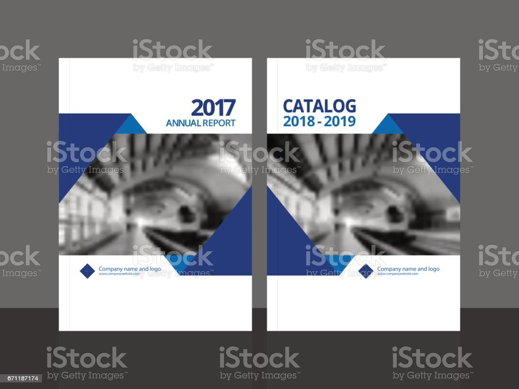 Cover design for annual report and business catalog, magazine, flyer or booklet. Brochure template layout. A4 cover vector EPS-10 sample image with Gradient Mesh. vector art illustration