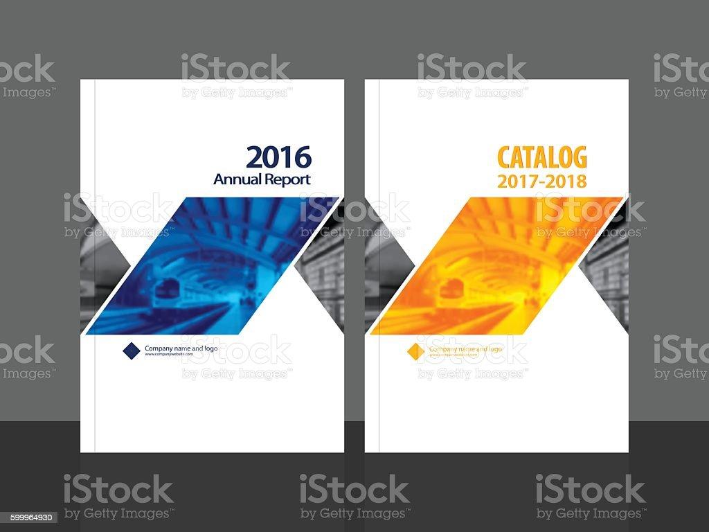 Cover design annual report magazine royalty free stock vector art - Cover Design For Annual Report And Catalog Royalty Free Stock Vector Art