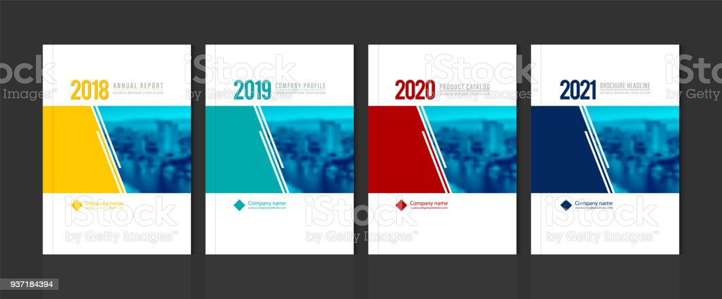 Cover design for annual report business catalog company profile brochure magazine flyer booklet poster banner. A4 template element cover vector EPS-10 sample image with Gradient Mesh. vector art illustration