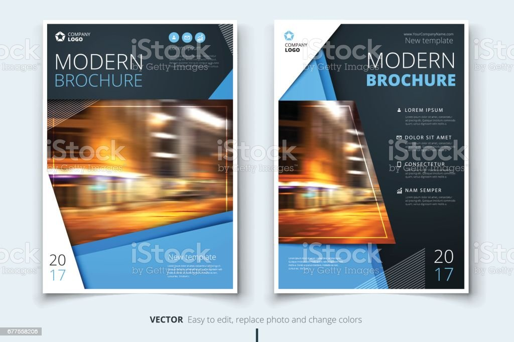Cover design for brochure, flyer, report, catalog, presentation, poster. Modern layout template in A4 size vector art illustration