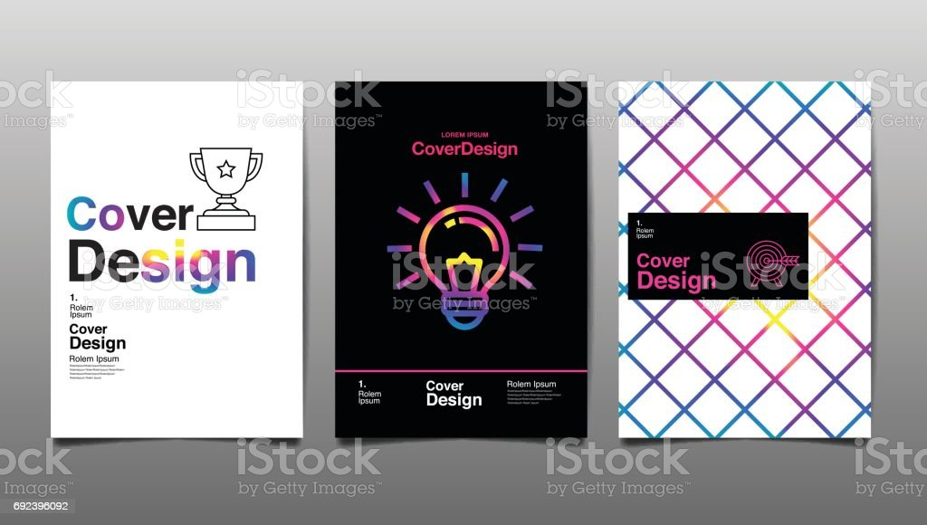 Cover Design Template,  Abstract Background, vector Illustration vector art illustration