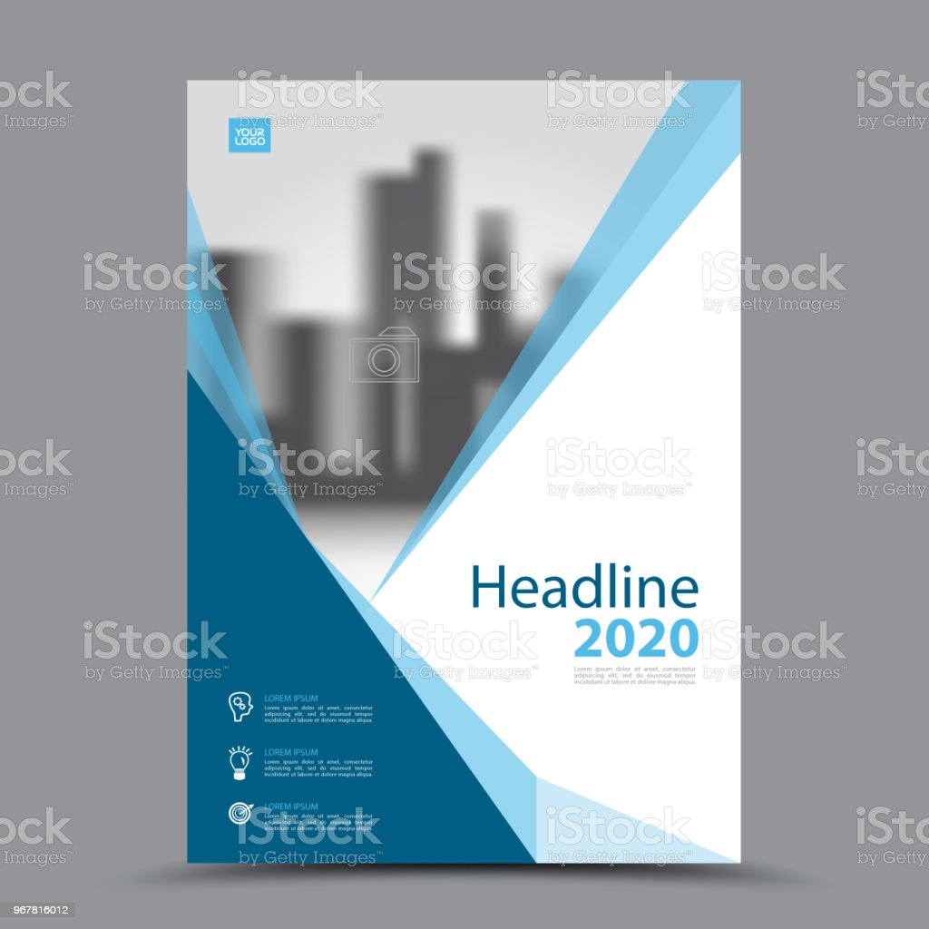 Cover Design Template Business Brochure Flyer Book Cover