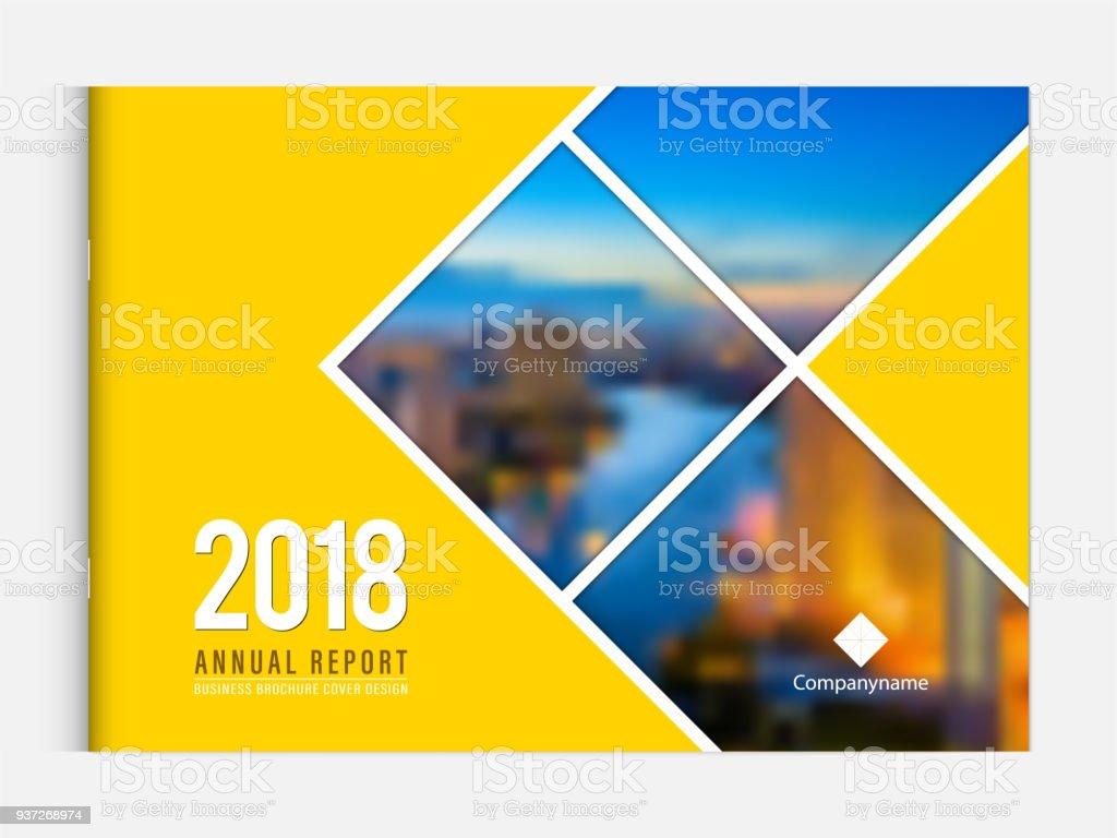 Cover Design Template Corporate Business Annual Report