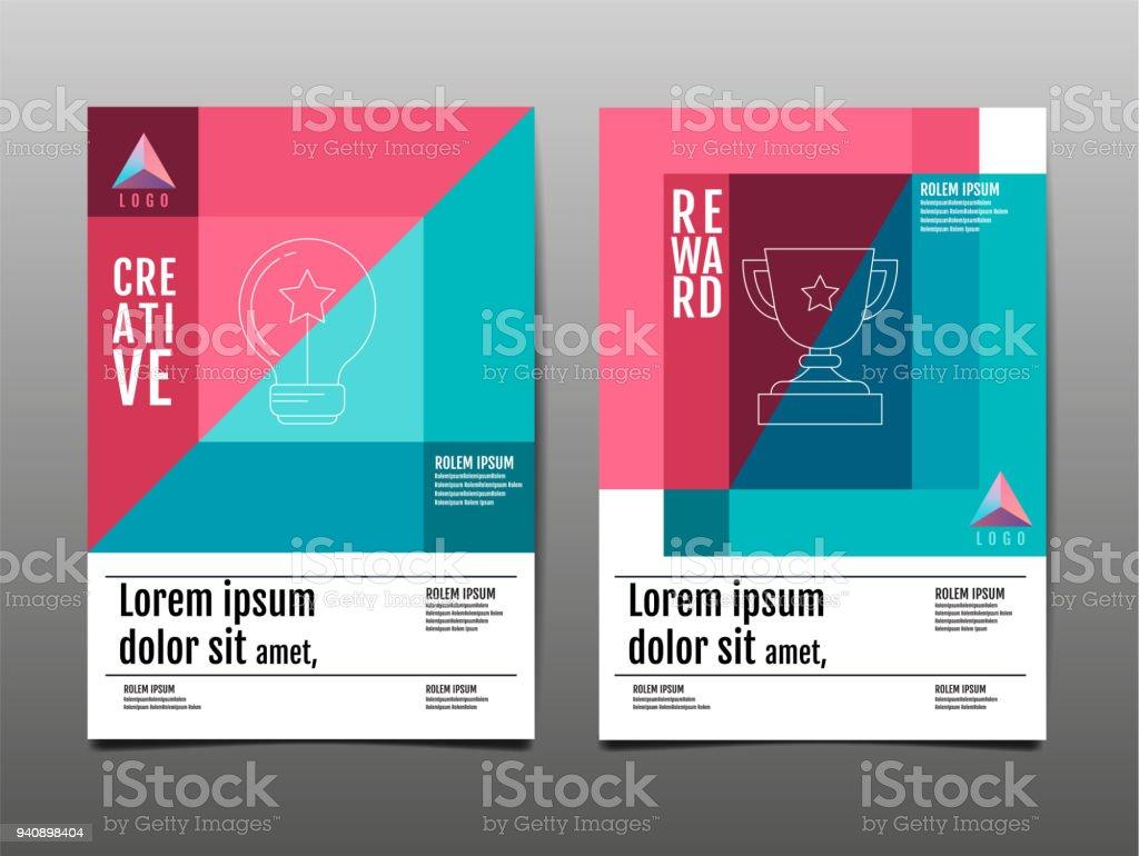 Cover Design Template Layout Design Annual Report Future