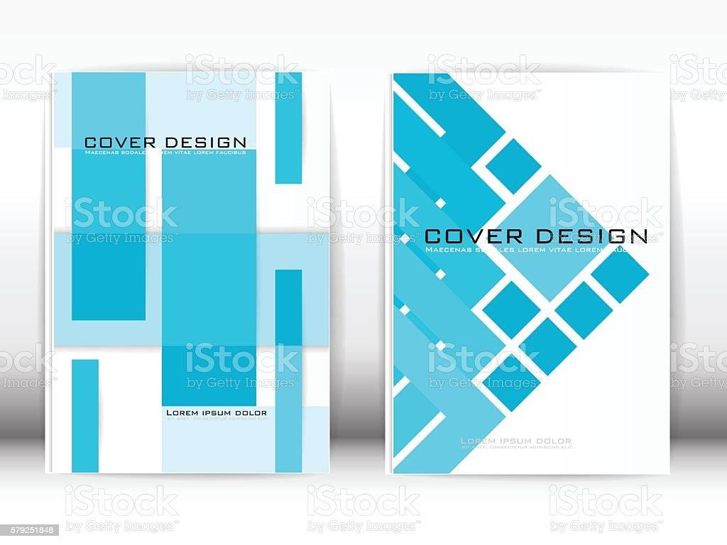 Cover Design Template Publication. vector art illustration