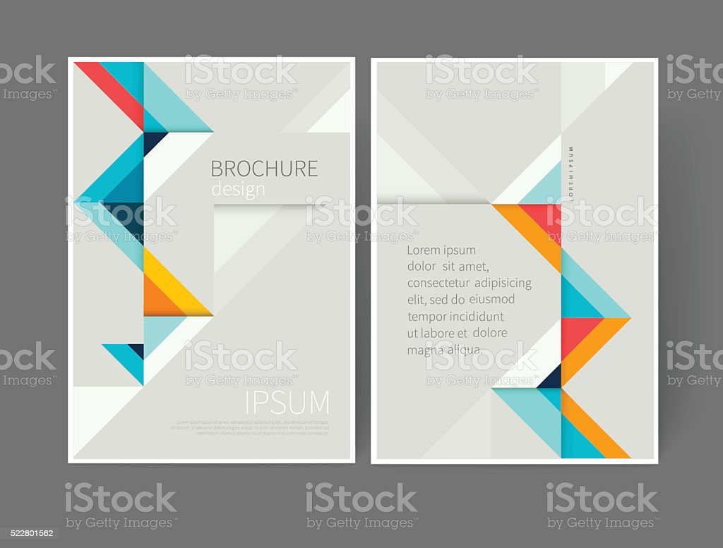 Plantilla de Diseño de cubierta - ilustración de arte vectorial