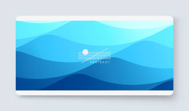Cover design template with color gradients. Abstract background. Modern pattern. 3d vector Illustration for advertising, marketing, presentation. vector art illustration