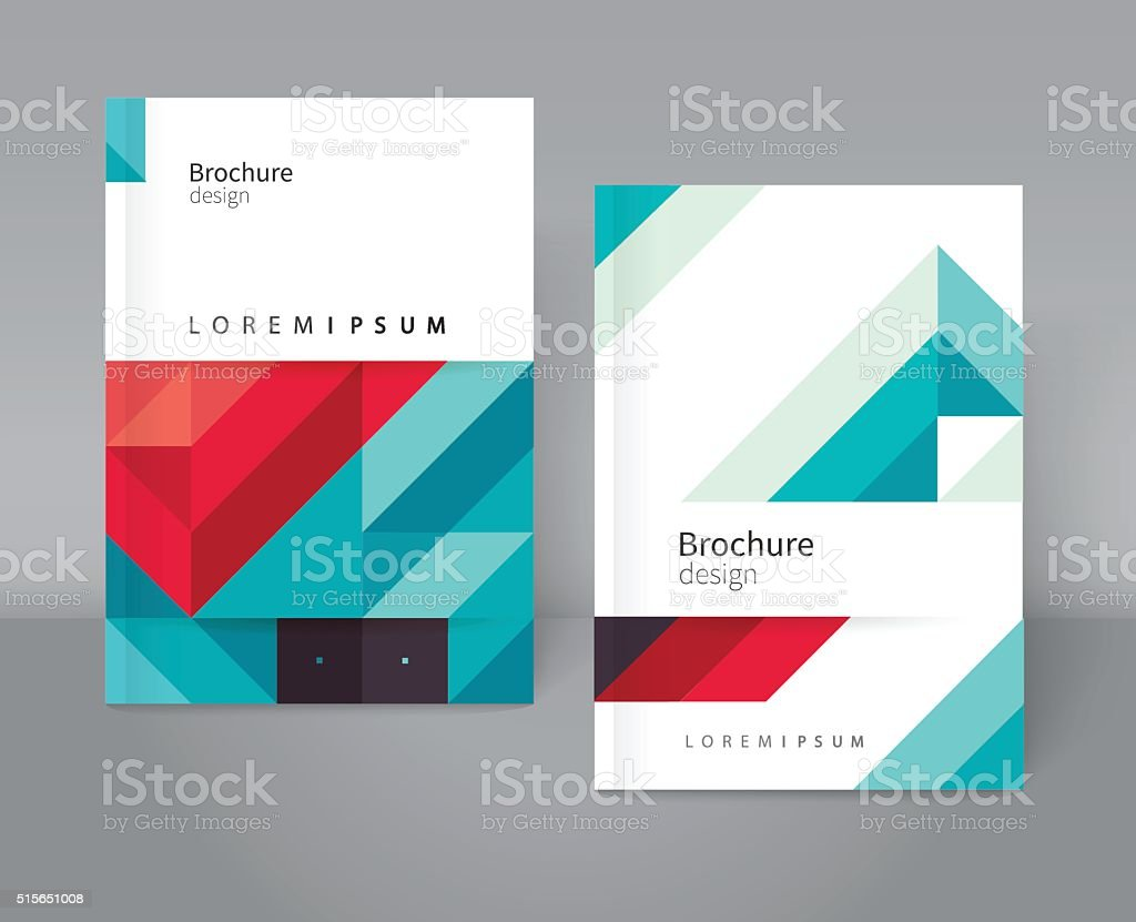 Cover design vector art illustration
