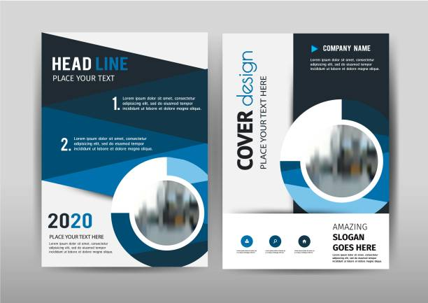 cover design - annual reports templates stock illustrations