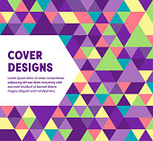 Modern design layout template for cover designs for web banner or print advertising with abstract background.