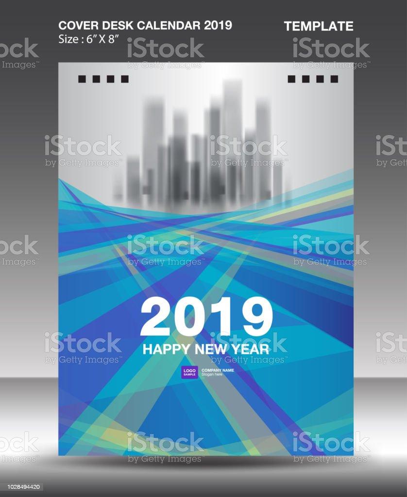 Cover Desk Calendar 2019 Design Template Flyer Template Ads Booklet