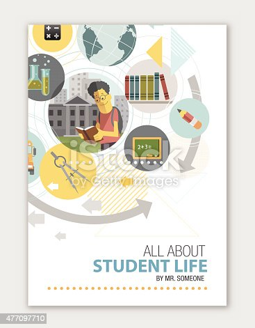 Cover for educational institute
