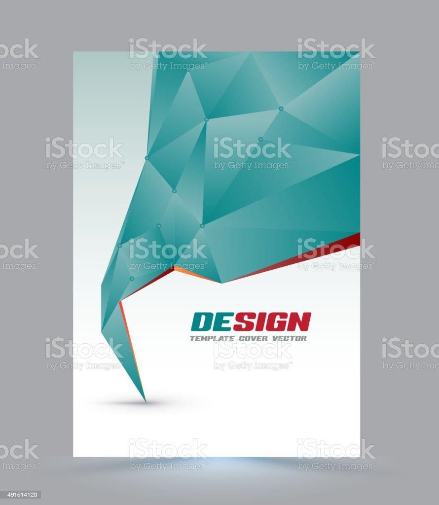 Ilustración de Plantilla De Diseño De Página De Portada y más banco ...