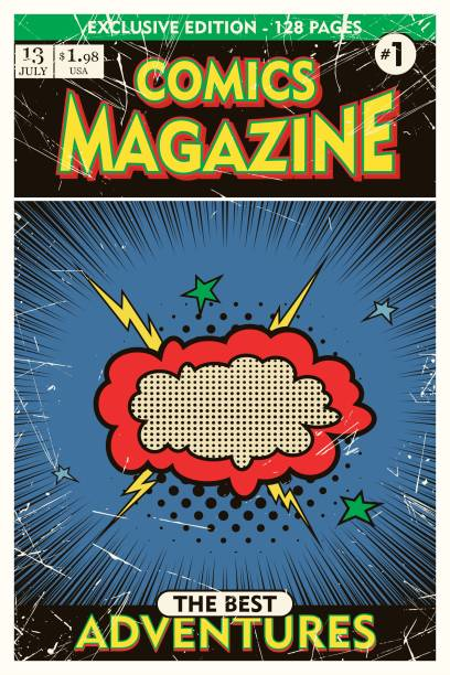 Best Comic Book Cover Illustrations, Royalty-Free Vector