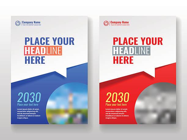 ilustrações, clipart, desenhos animados e ícones de cover template for books, magazine, brochures, corporate presentations. - templates de logotipo