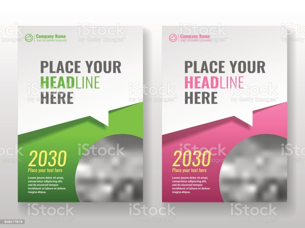 Cover template for books, magazine, brochures, corporate presentations. vector art illustration