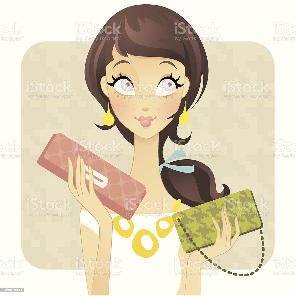 CoverGirls (Accessories) royalty-free stock vector art