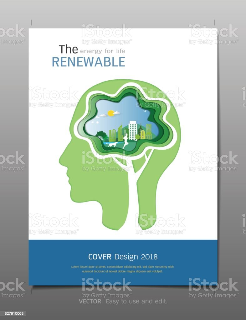 Covers Design Template Inspiration For Green Energy And Save ...