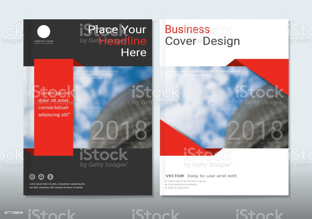 covers design with space for photo background can be adapt to annual