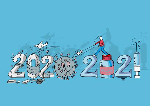 Covid Vaccine Diagram 2021