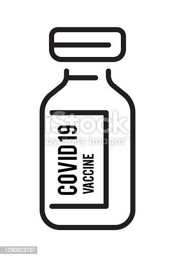 istock Covid vaccine icon 1290823197