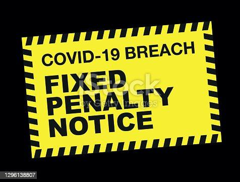 istock Covid-19 breach 1296138807