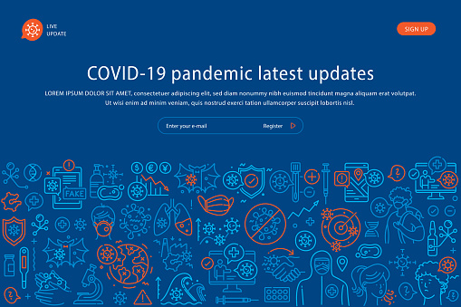 Covid-19 Latest News Website Template