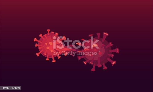 istock Covid-19 mutation. New variant of coronavirus. 1292617439