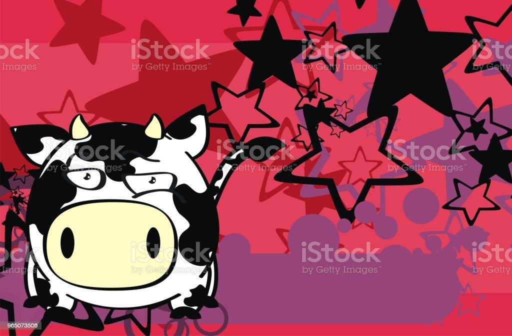 cow cartoon background cow cartoon background - stockowe grafiki wektorowe i więcej obrazów ameryka Łacińska royalty-free