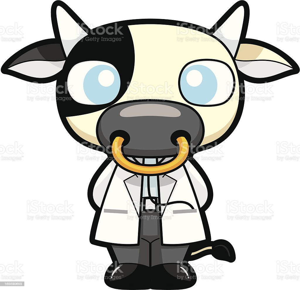 royalty free cow doctor clip art vector images illustrations istock rh istockphoto com doctor who clipart doctor clipart png
