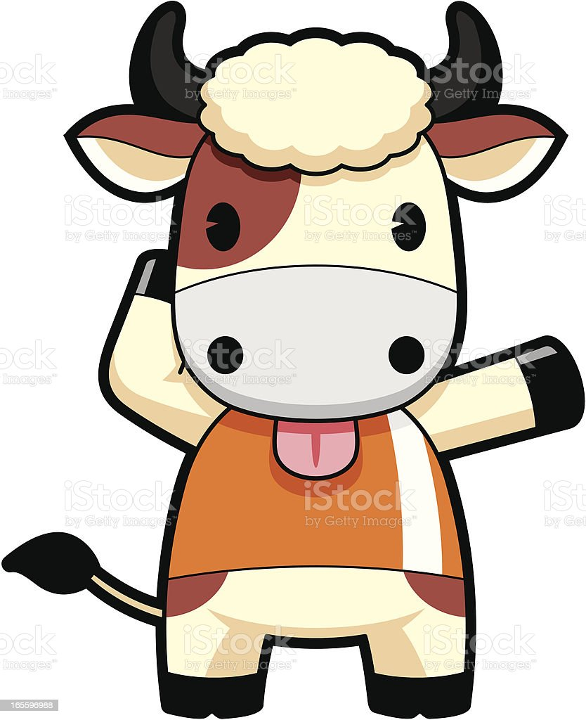 Cow Cartoon royalty-free cow cartoon stock vector art & more images of activity