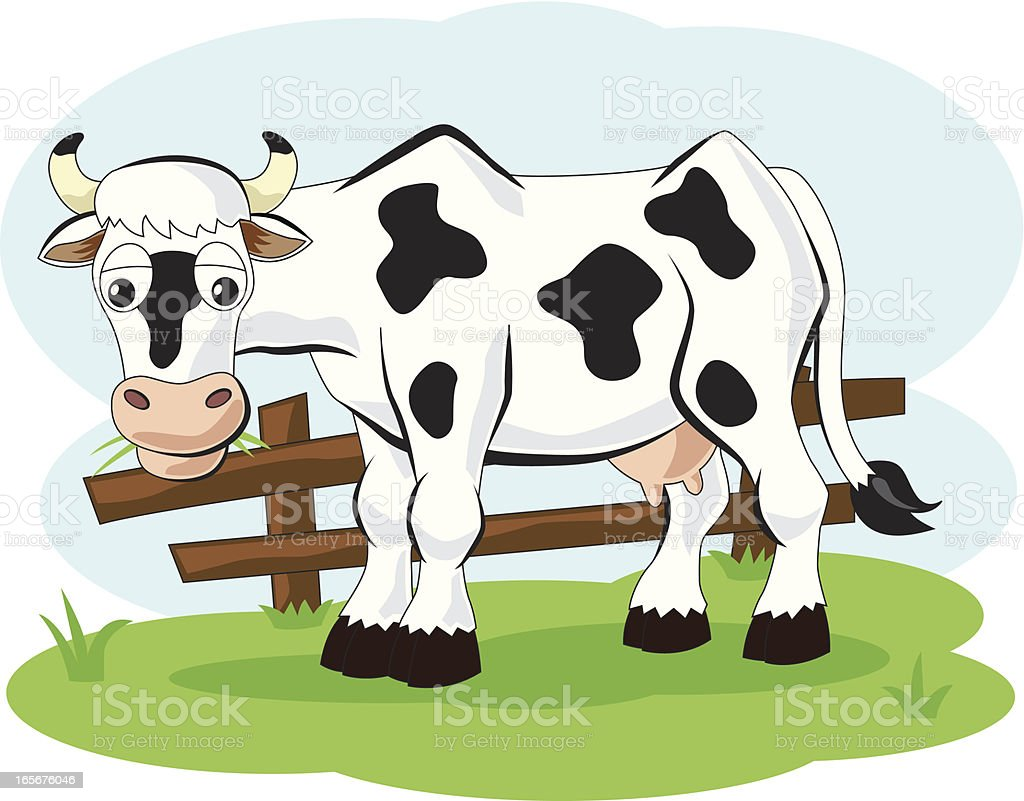 cow cartoon stock vector art 165676046 istock