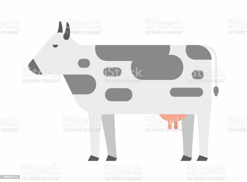 Cow icon cow icon - stockowe grafiki wektorowe i więcej obrazów bydło domowe royalty-free