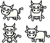 Cow icons.