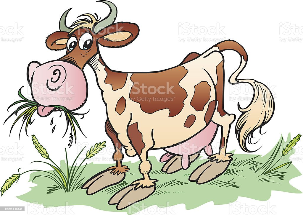 Cow royalty-free stock vector art