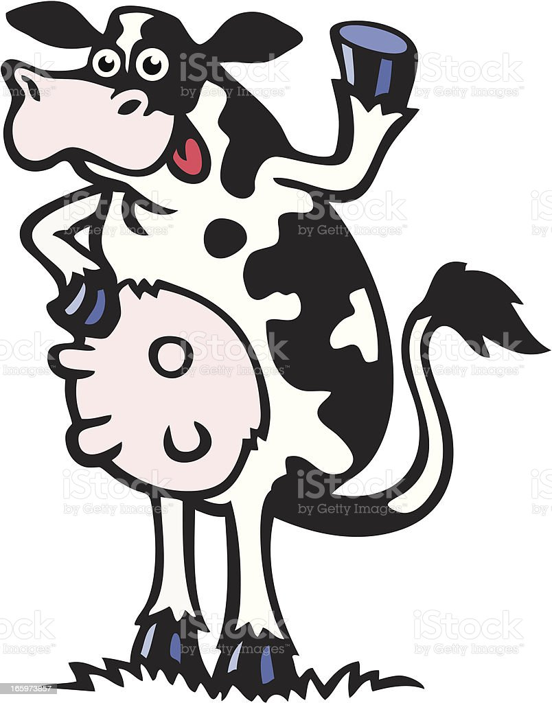 Cow royalty-free cow stock vector art & more images of agriculture