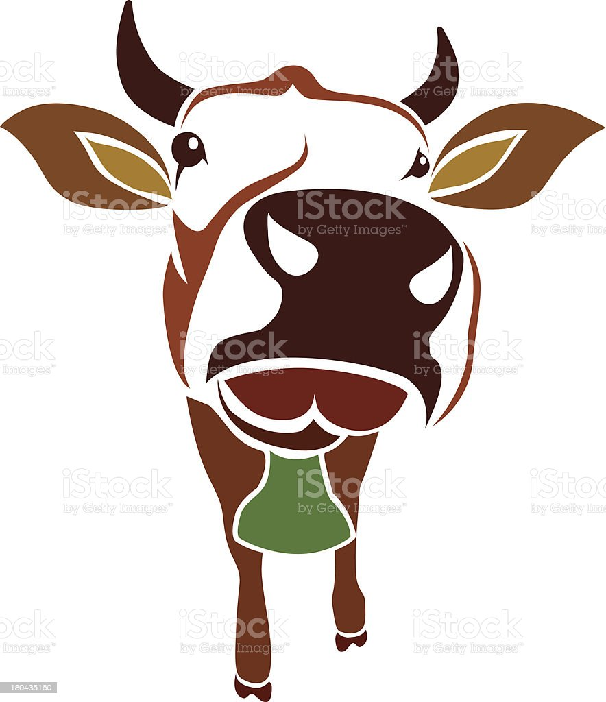 Cow royalty-free stock vector art